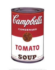 Campbell's iconic Soup can packaging
