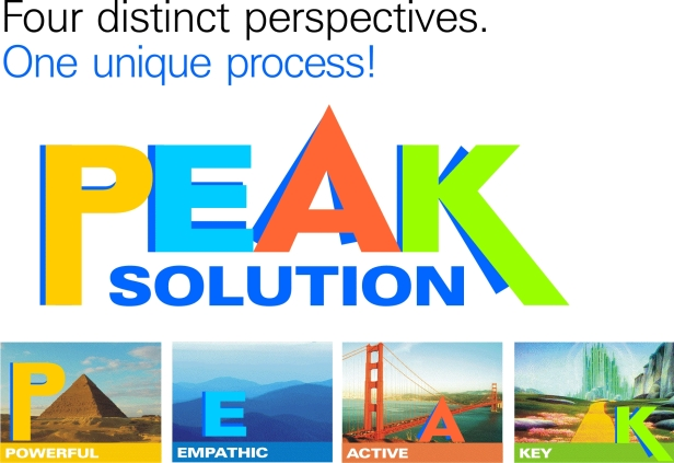 PEAK SOLUTION Four Distinct perspectives. One unique process!